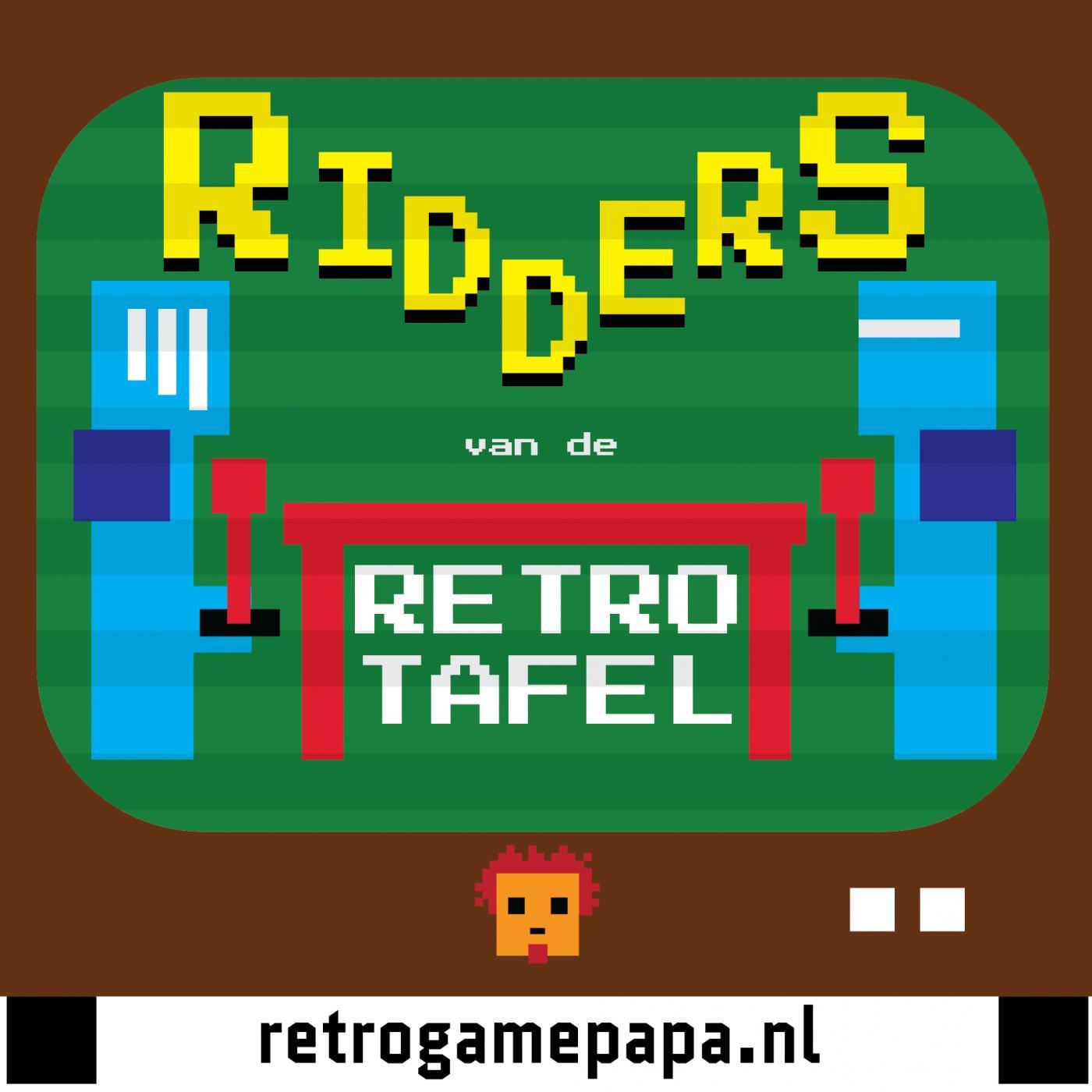 Cover Image De Ridders van de Retro Tafel