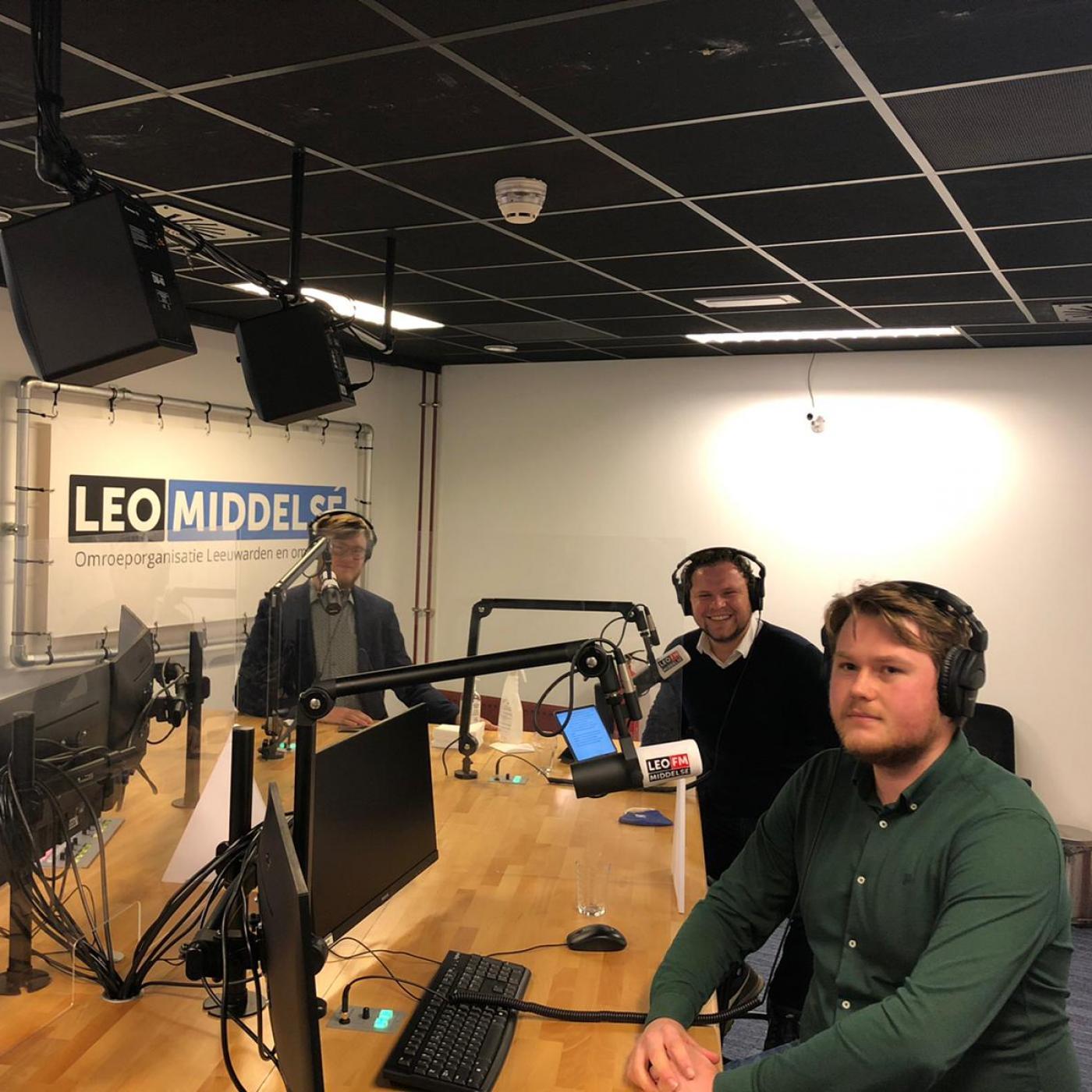 Friese Politieke Jongeren Podcast logo
