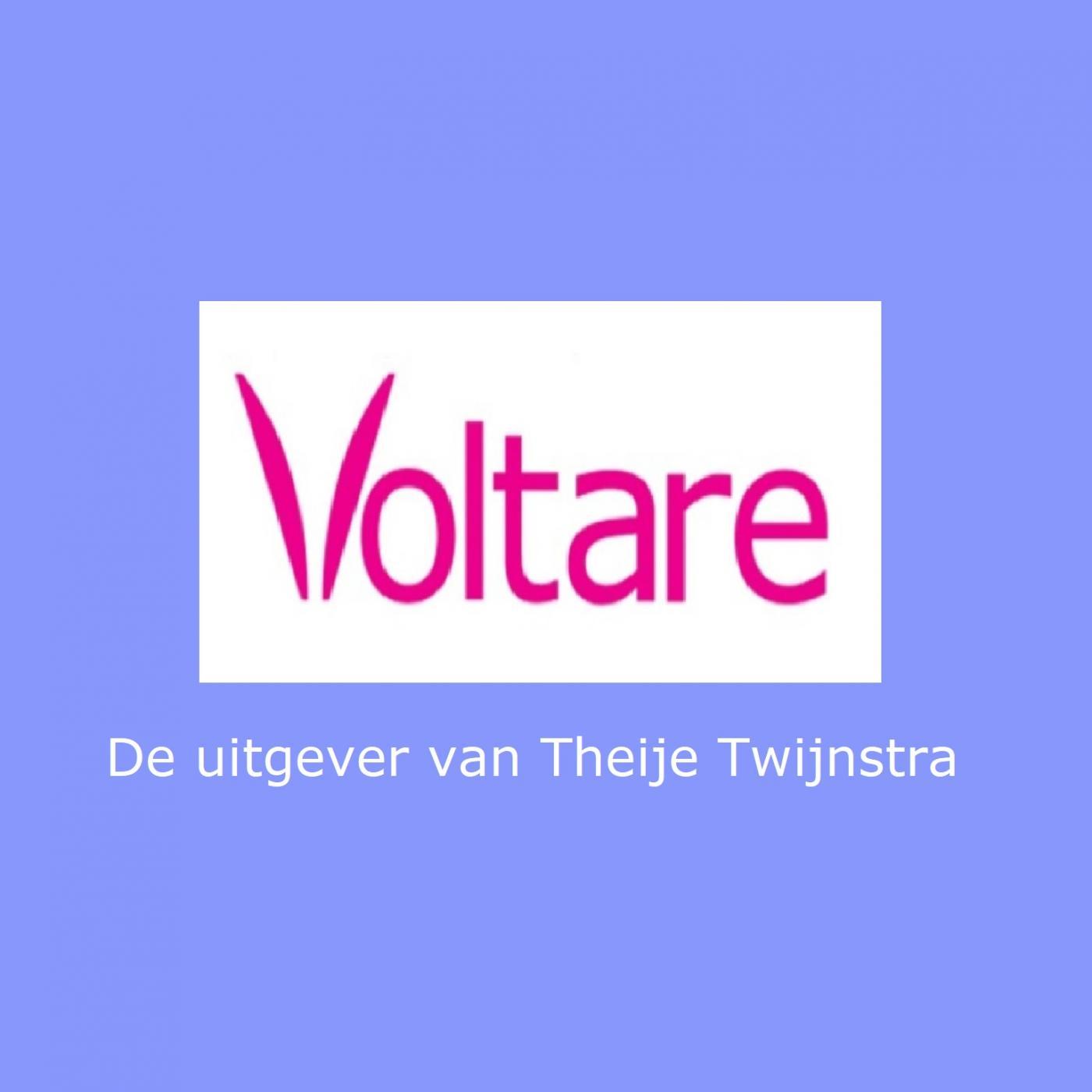 Cover Image Theije Twijnstra/Uitgeverij Voltare