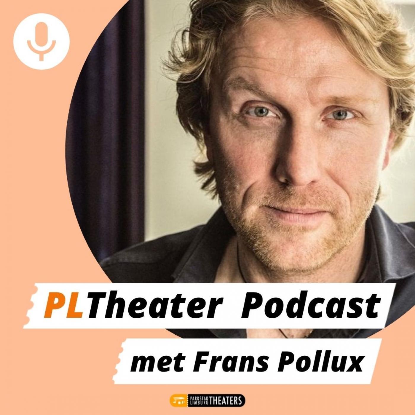 PLTheater Podcast met Frans Pollux logo